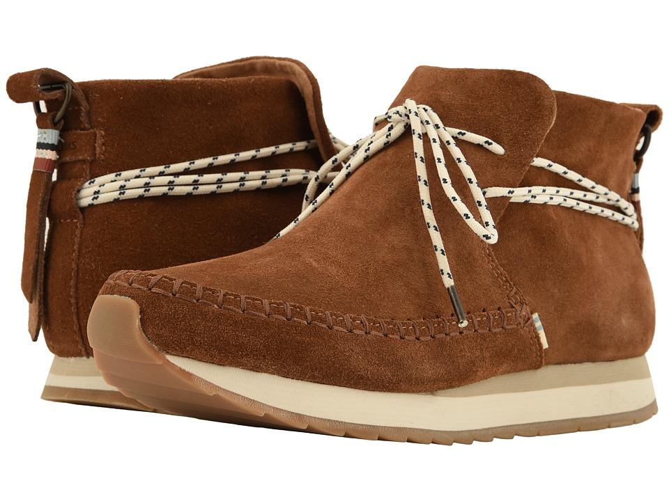TOMS Rio (Dark Amber Suede) Slip-On Shoes
