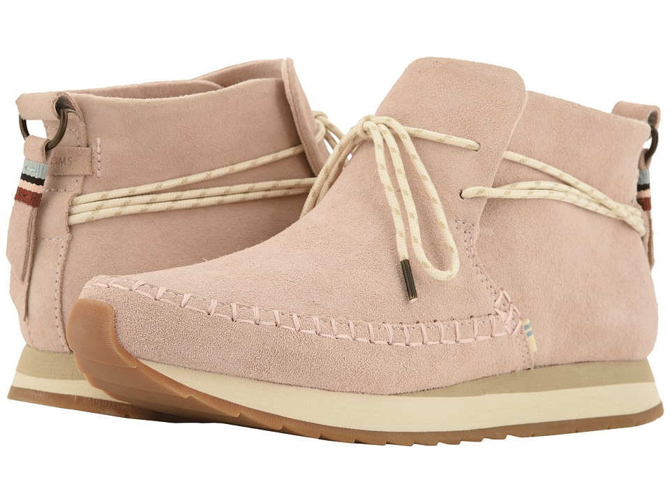 TOMS Rio (Blush Suede) Slip-On Shoes