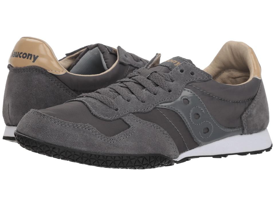 Saucony Originals Bullet (Grey/Tan) Women's Classic Shoes