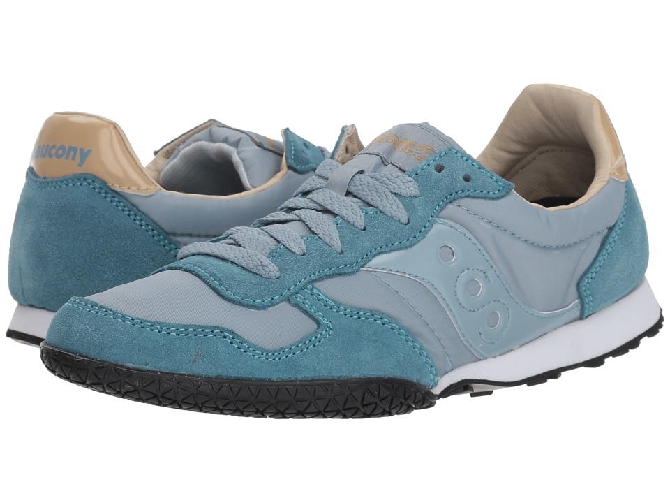 Saucony Originals Bullet (Light Blue/Tan) Women's Classic Shoes