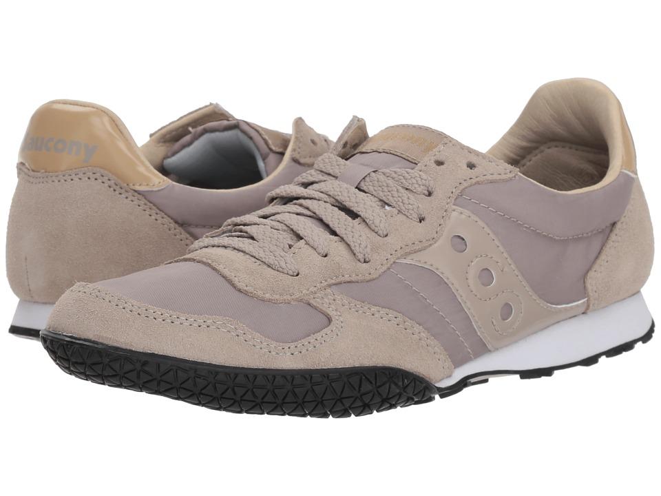 Saucony Originals Bullet (Taupe/Tan) Women's Classic Shoes