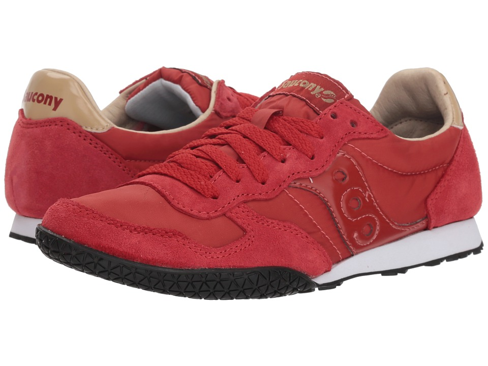 Saucony Originals Bullet (Red/Tan) Women's Classic Shoes