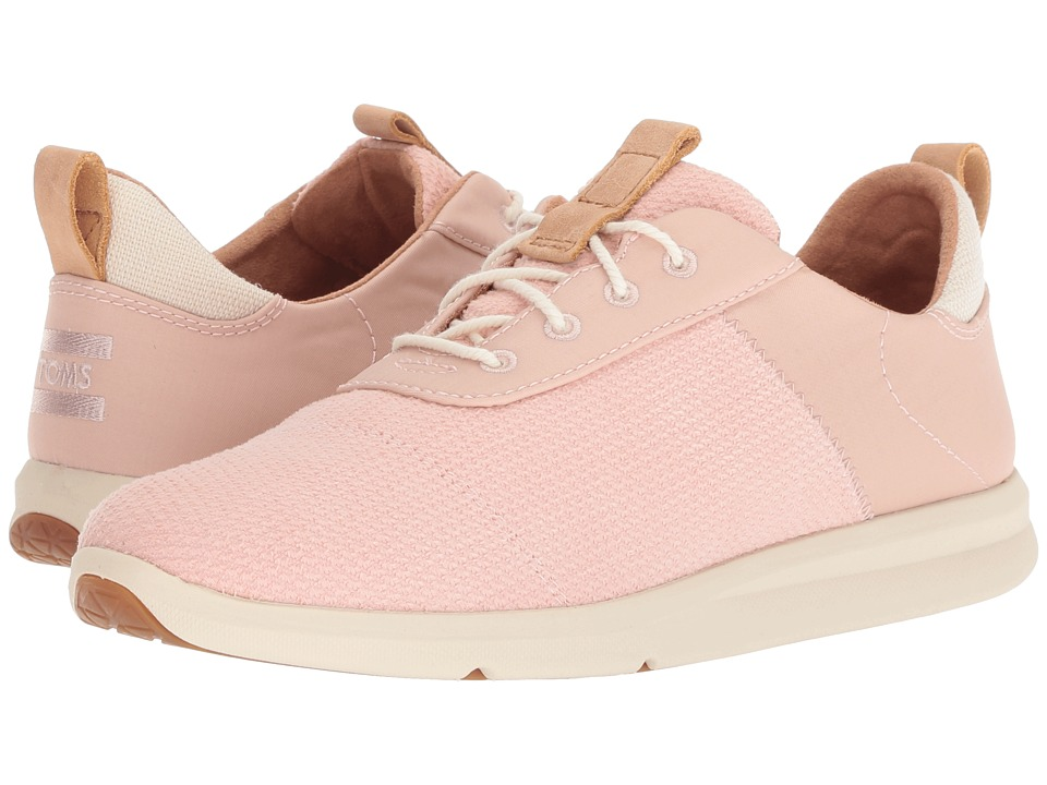 TOMS Cabrillo (Rose Cloud Textured Velour Mix)