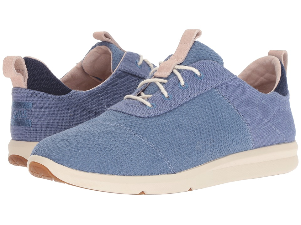 TOMS Cabrillo (Infinity Blue Textured Velour Mix)