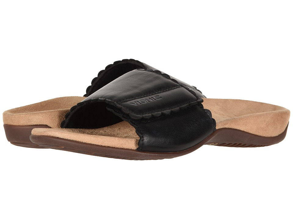 VIONIC Florence (Black) Sandals