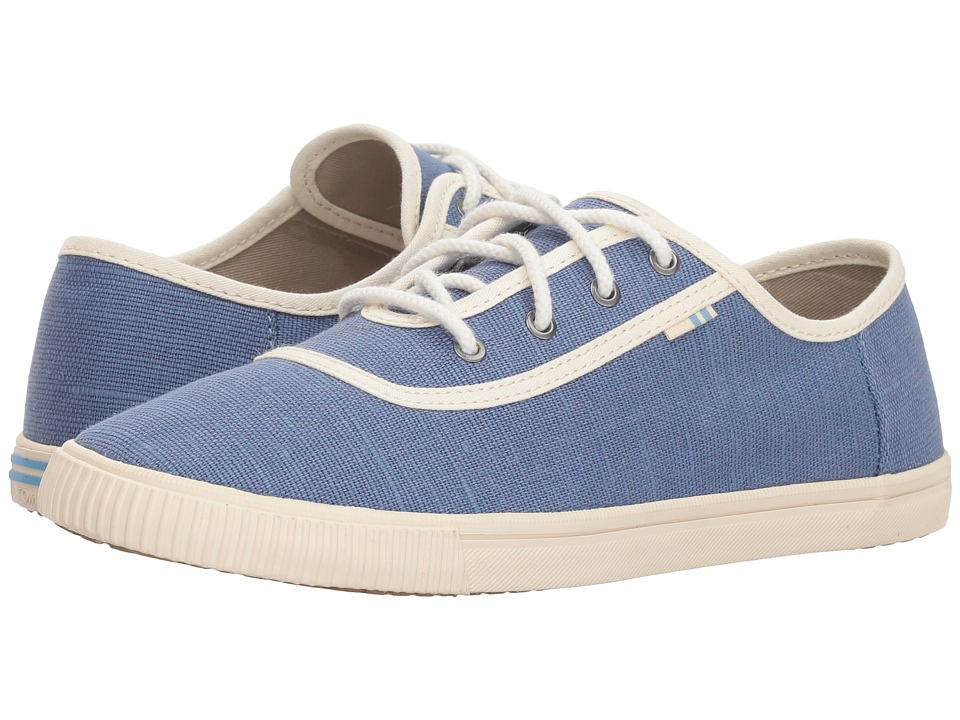 TOMS Carmel (Infinity Blue Heritage Canvas) Slip-On Shoes