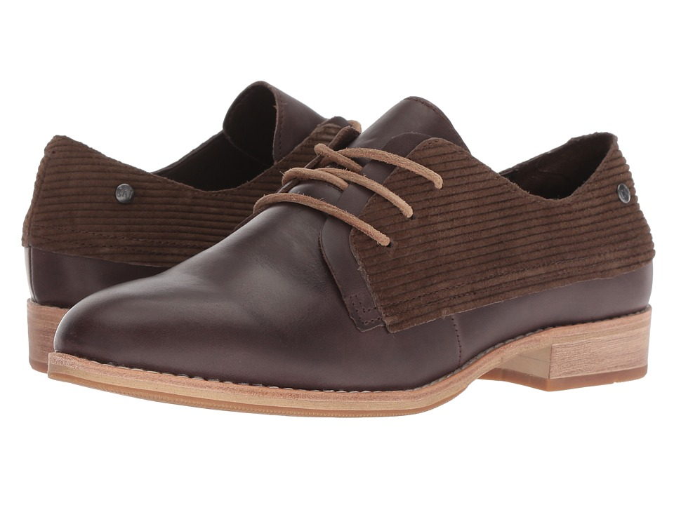 Caterpillar Casual Tally (Dark Brown Leather/WPL) Women's Shoes