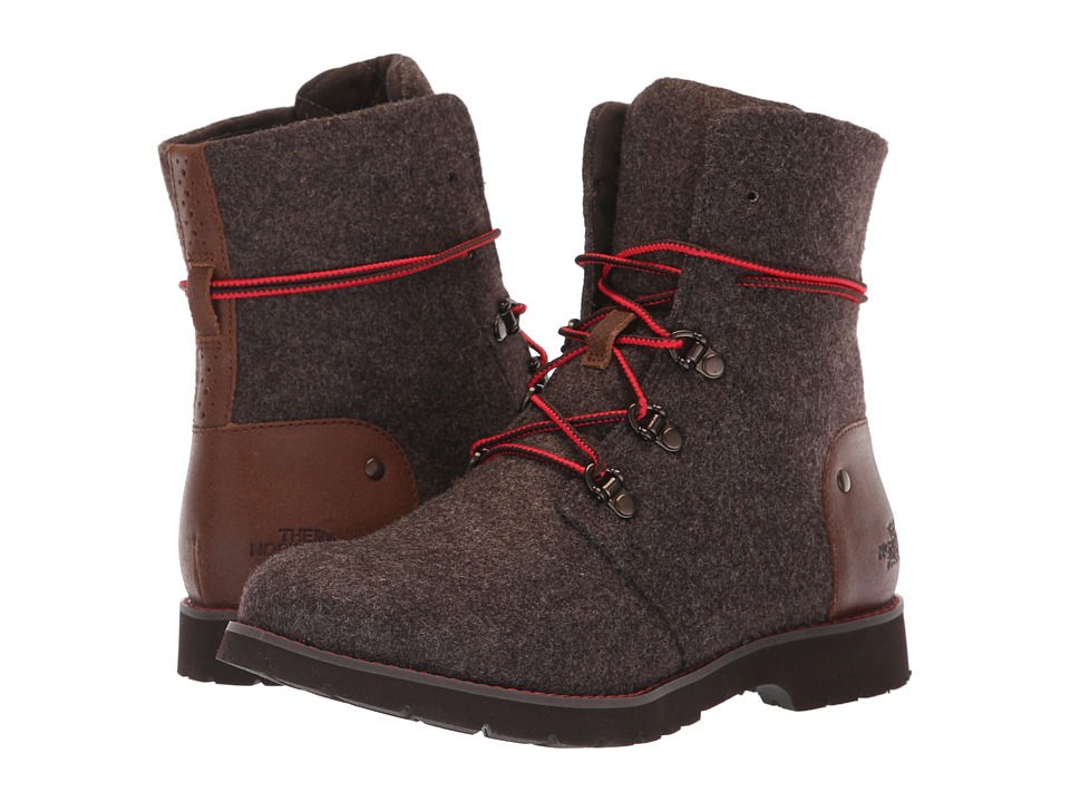 The North Face Ballard Lace II Heathered (Chocolate Torte/Tagumi Brown) Women's Cold Weather Boots