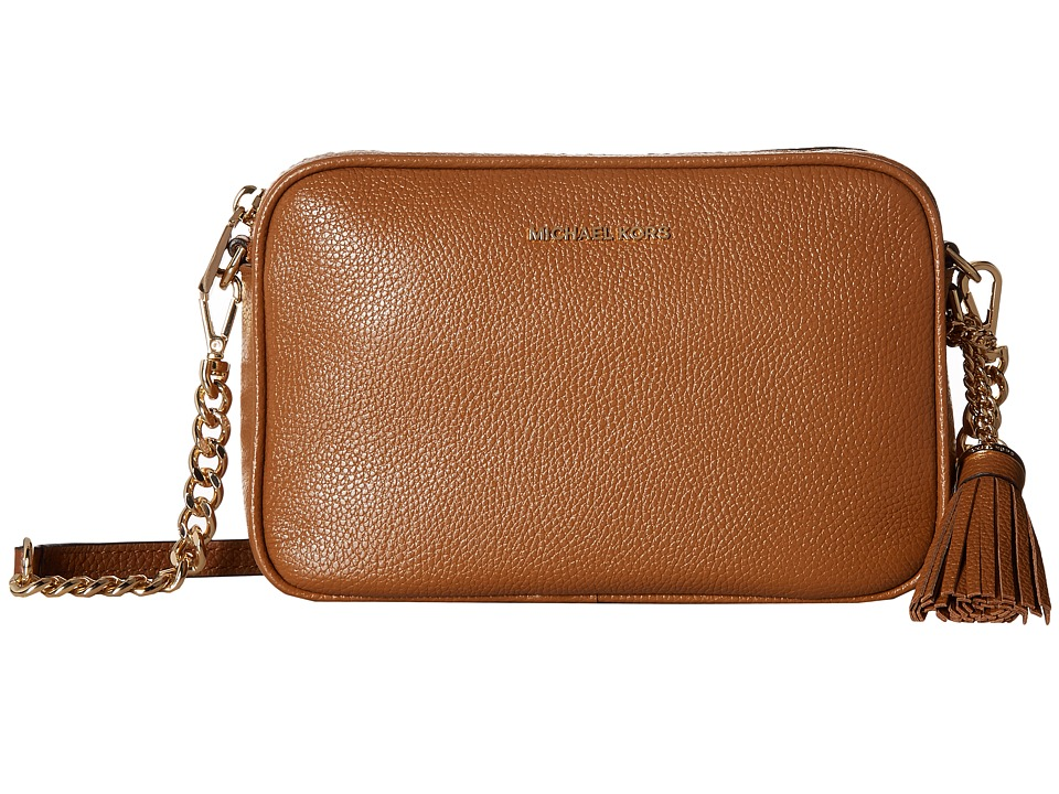 MICHAEL Michael Kors Medium Camera Bag (Acorn) Wallet