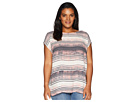 Vince Camuto Specialty Size Plus Size Cap Sleeve Ancient Muses Blouse