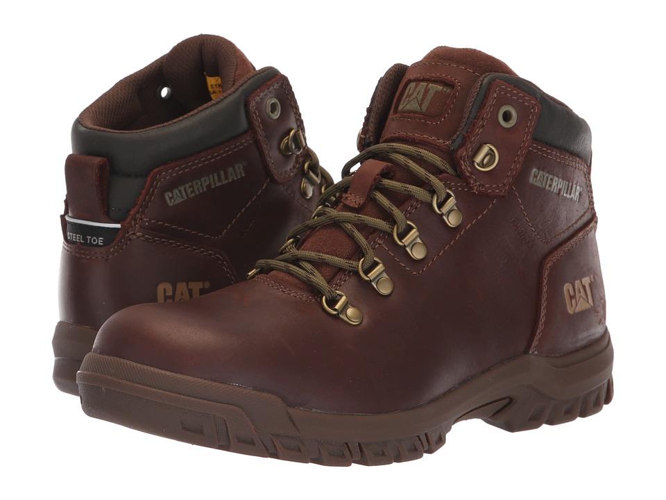 Caterpillar Mae Steel Toe WP (Cocoa) Women's Work Boots