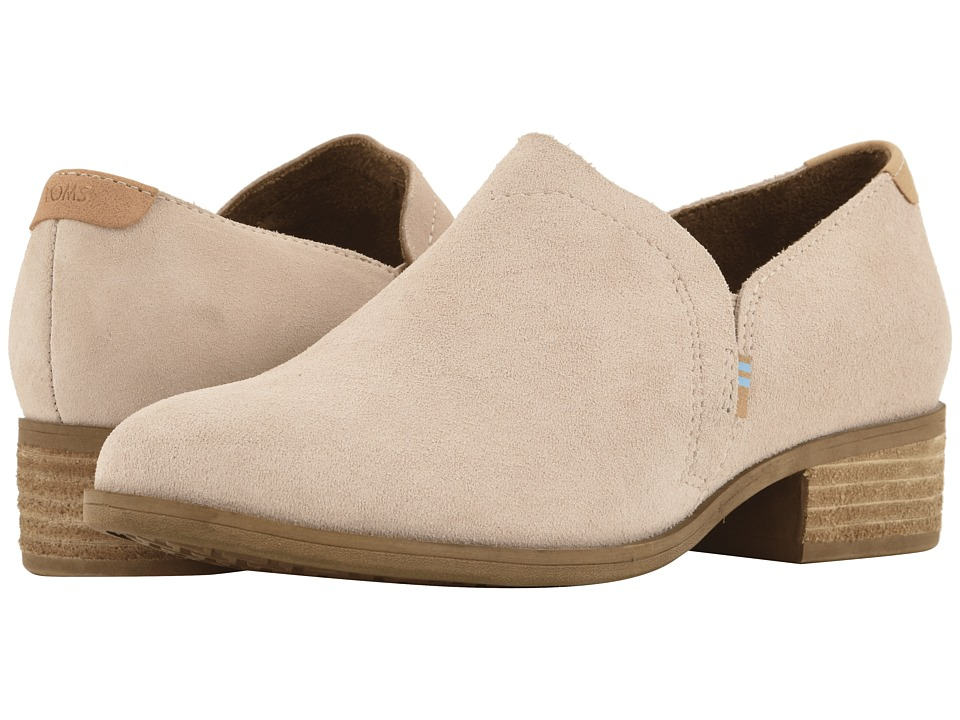 TOMS Shaye (Blush Suede) Slip-On Shoes
