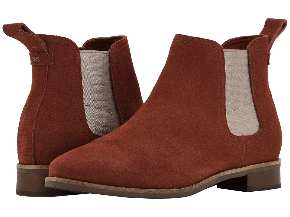 TOMS Ella (Muscat Suede) Women's Pull-on Boots