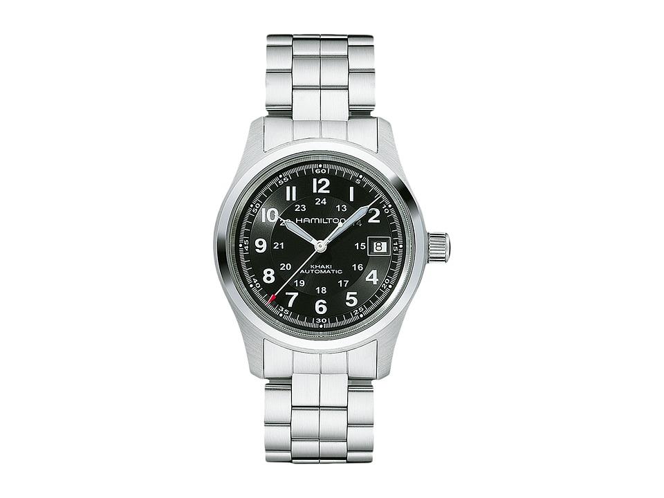 Hamilton Khaki Field Auto 38mm - H70455133 (Black) Watches