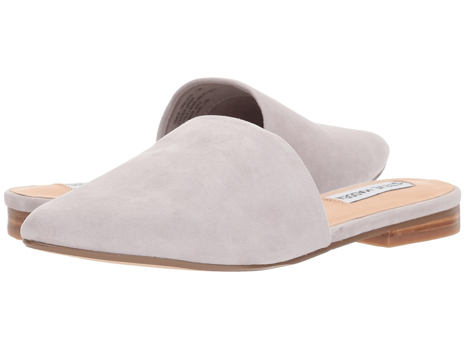 Steve Madden Trace Mule (Grey Suede) Women's Clog/Mule Shoes