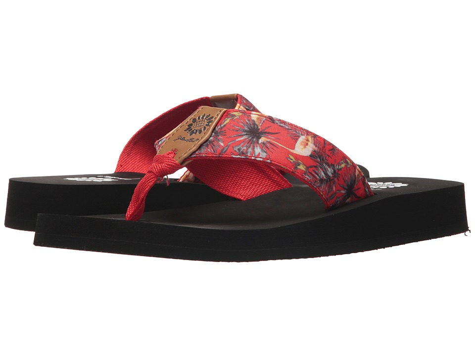 Yellow Box - Flamengo (Red) Women's Sandals