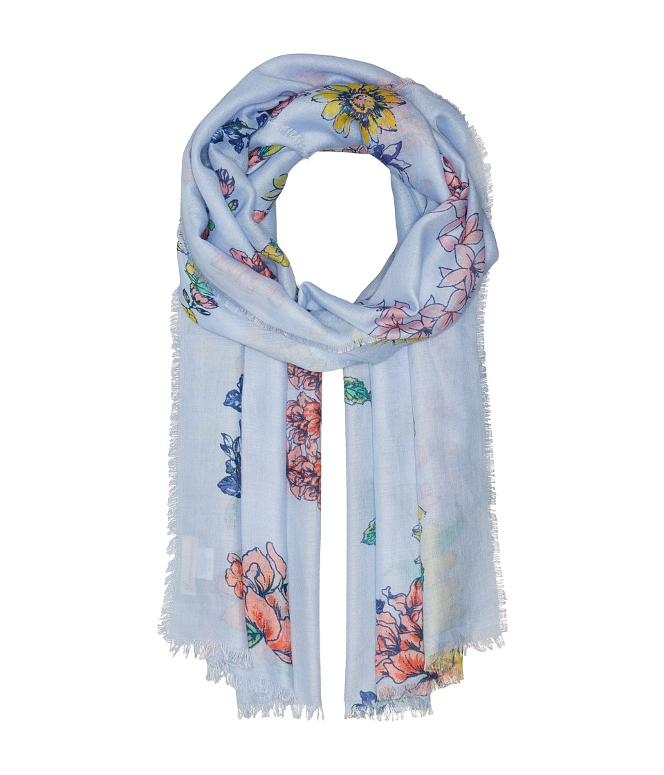Collection XIIX - Hello Spring Wrap (Blue) Scarves