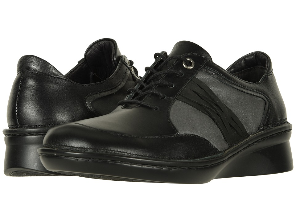 Naot Mezzo (Black Leather Combo) Women's Shoes