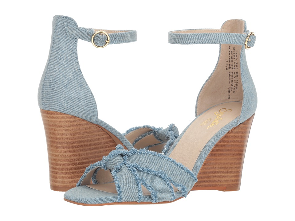 Seychelles Sunrays (Light Blue Denim) Sandals