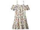 Ella Moss Girl Floral Print Chiffon Dress (Big Kids)