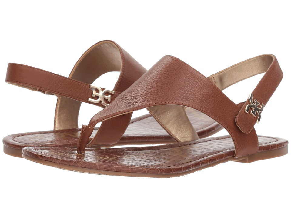 Sam Edelman Cason (Saddle Neymar Tumble Leather) Sandals