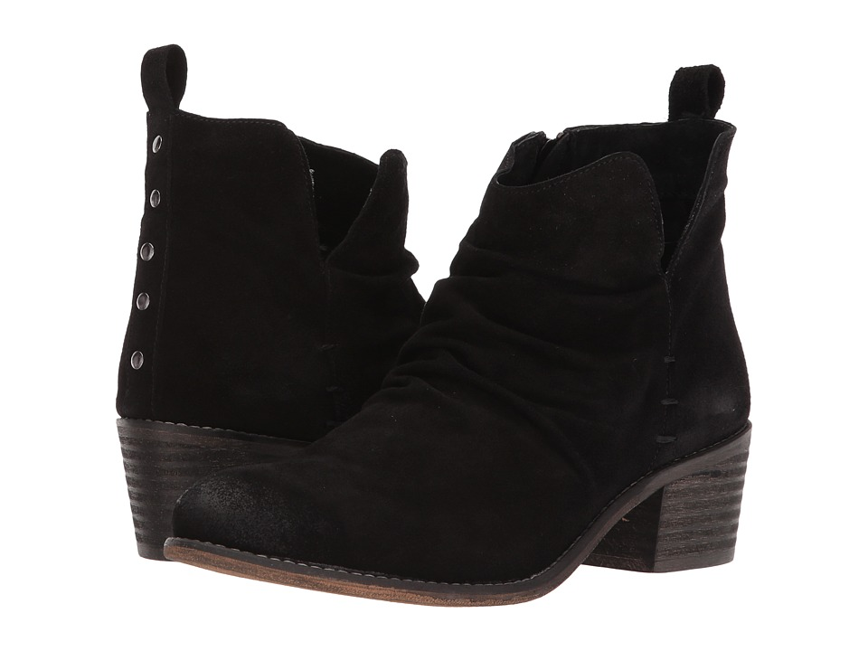 Musse&Cloud - Kandy (Black Leather) Womens Zip Boots