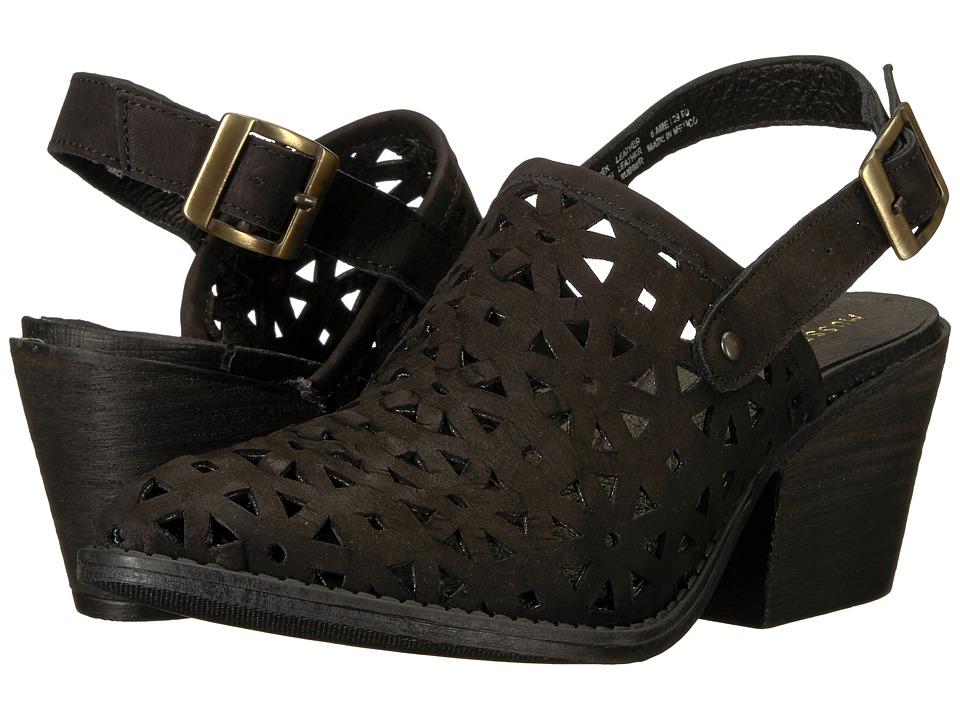 Musse&Cloud - Alexa (Black Leather) High Heels