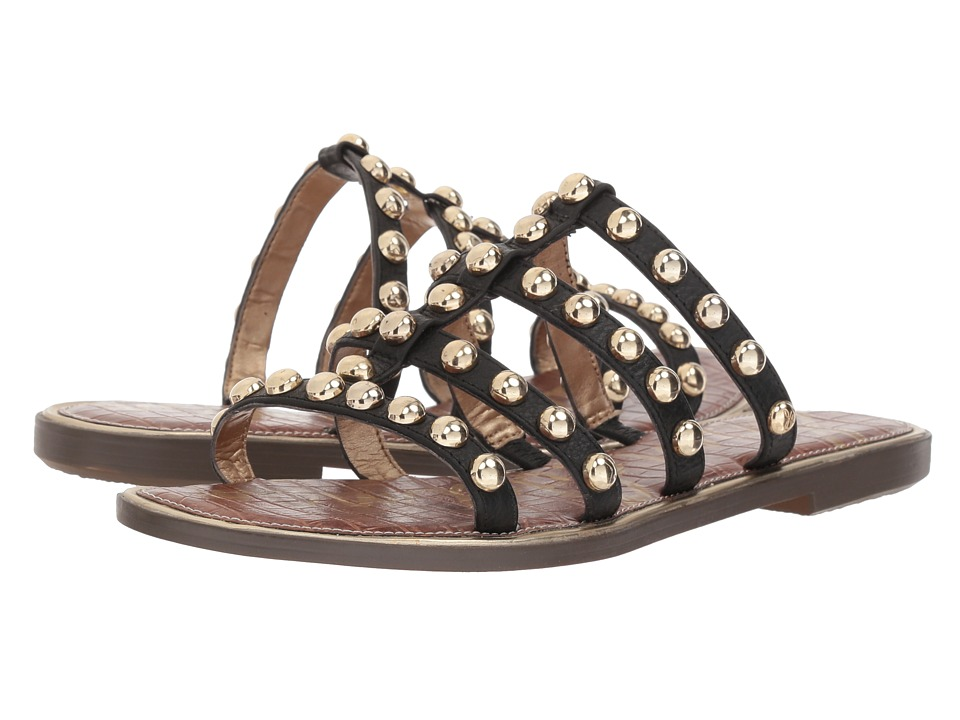 Sam Edelman Glenn (Black New Tumbled Leather) Sandals