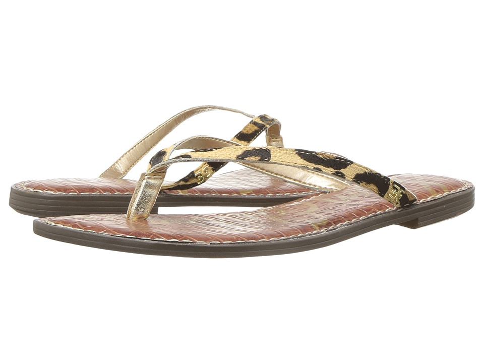 Sam Edelman - Gracie (New Nude Leopard Special Leopard Brahma Hair) Womens Sandals
