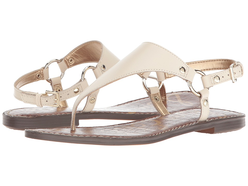 Sam Edelman Greta (Modern Ivory Vaquero Saddle Leather) Sandals