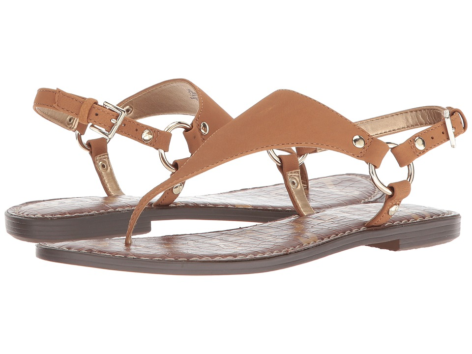 Sam Edelman Greta (Golden Caramel Wayne Goat Leather) Sandals