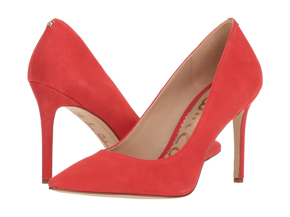 Sam Edelman Hazel (Coral Punch Kid Suede Leather) Women's Shoes