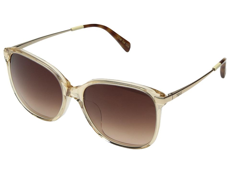 TOMS - Sandela 201 (Champagne Crystal) Fashion Sunglasses