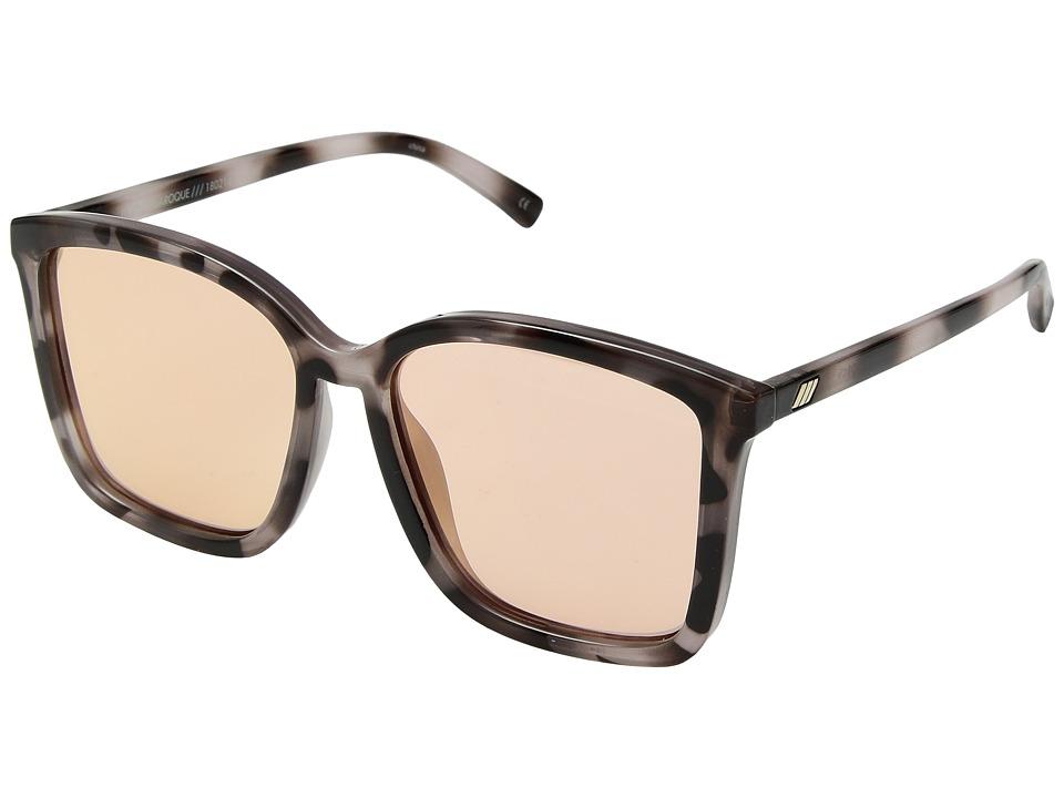 Le Specs - It Aint Baroque (Apricot Tort/Apricot Tint) Fashion Sunglasses