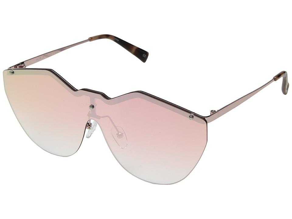 Le Specs - Noir De Vie (Rose God/Rose Grad Revo) Fashion Sunglasses