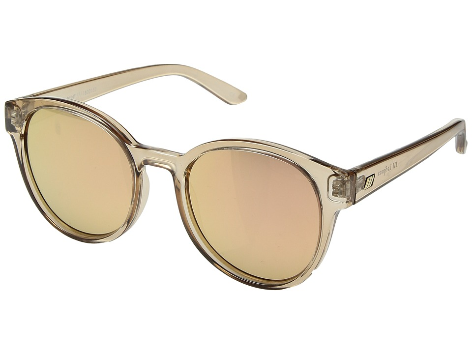 Le Specs - Paramount (Tan/Brass Revo Mirror) Fashion Sunglasses