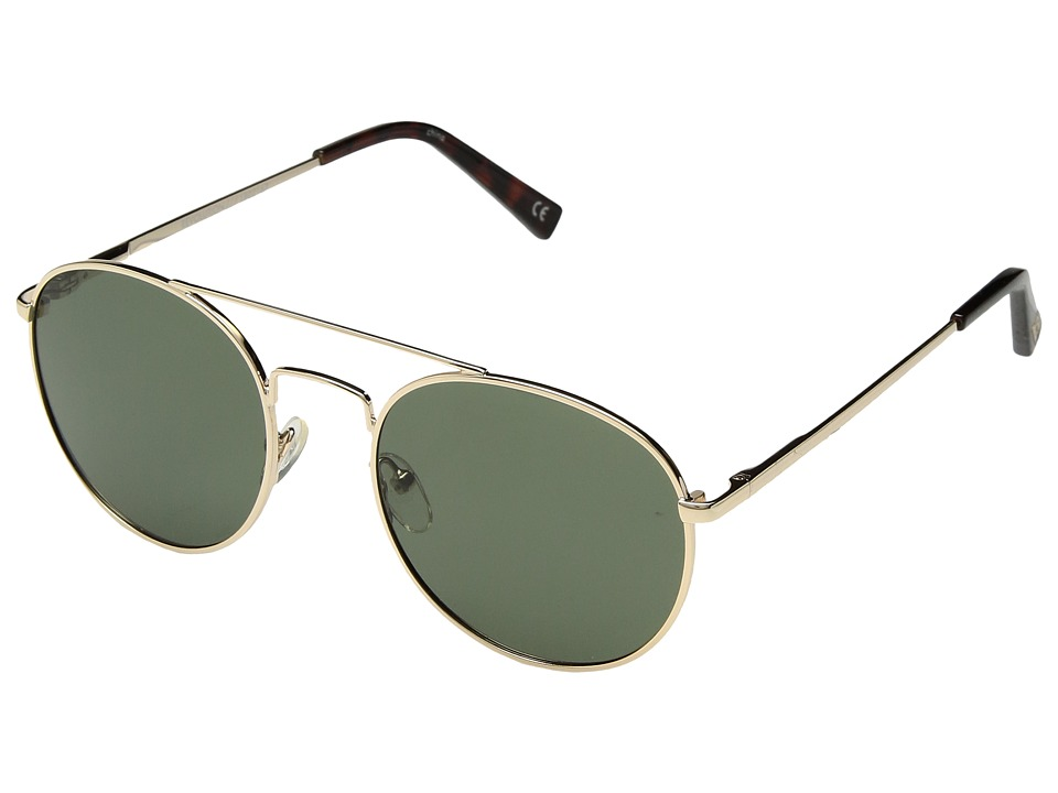 Le Specs - Revolution (Gold/Khaki Mono Ploarized) Fashion Sunglasses