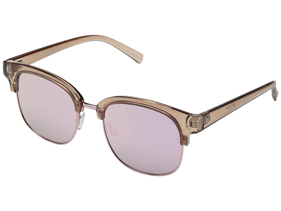 Le Specs Recognition (Tan/Peach Revo Mirror) Fashion Sunglasses