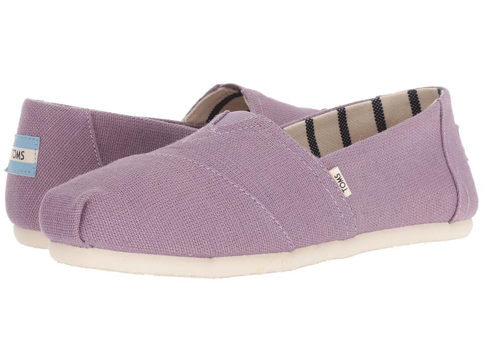 TOMS Venice Collection Alpargata (Dusk Heritage Canvas) Slip-On Shoes
