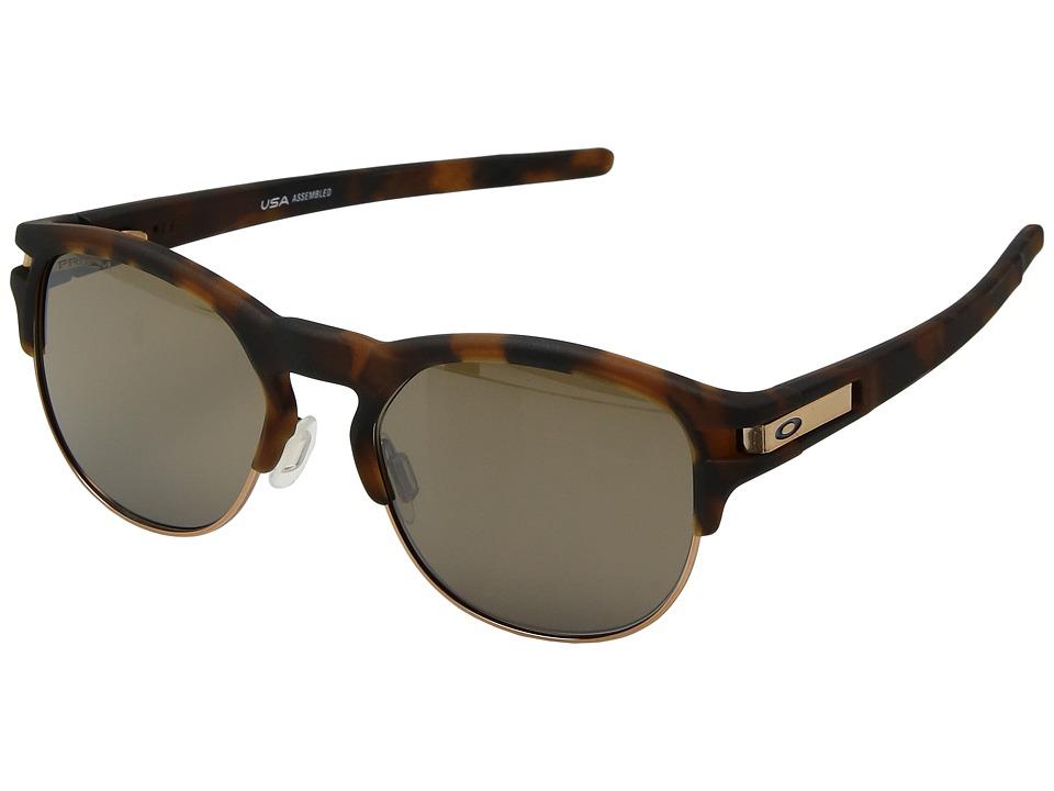 Oakley - Latch Key M (52) (Matte Brown Tortoise w/ Prizm Tungsten) Athletic Performance Sport Sunglasses