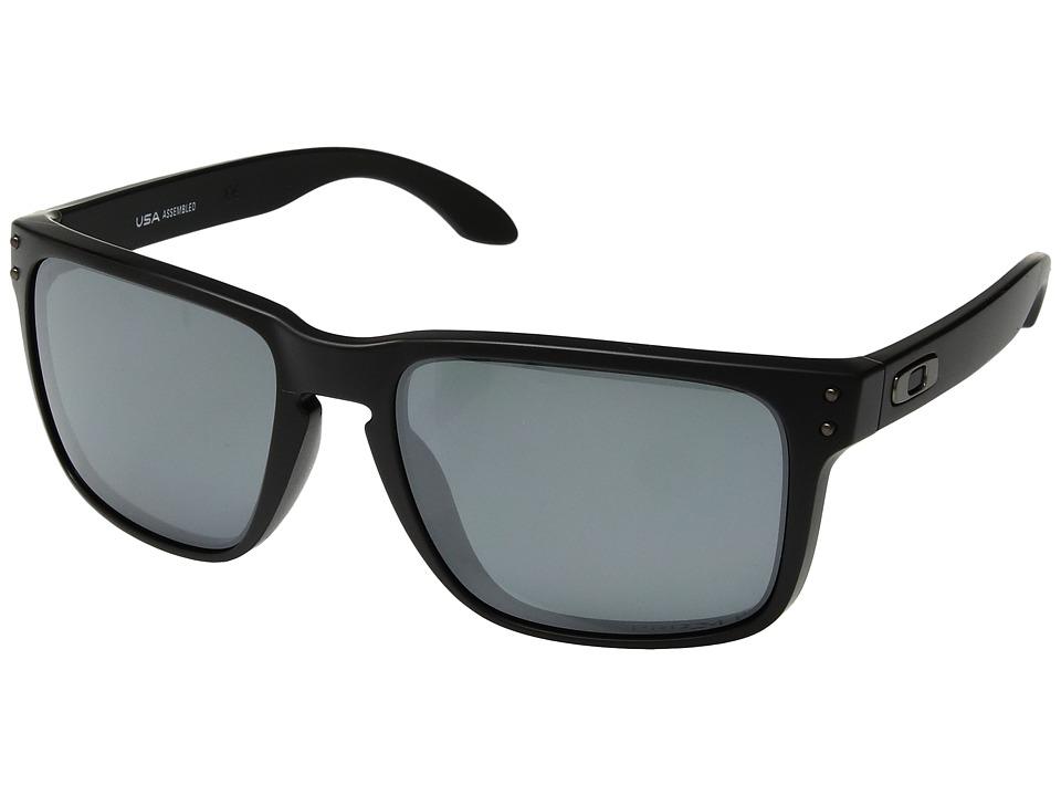 Oakley - Holbrook XL (Matte Black w/ Prizm Black Polarized) Athletic Performance Sport Sunglasses
