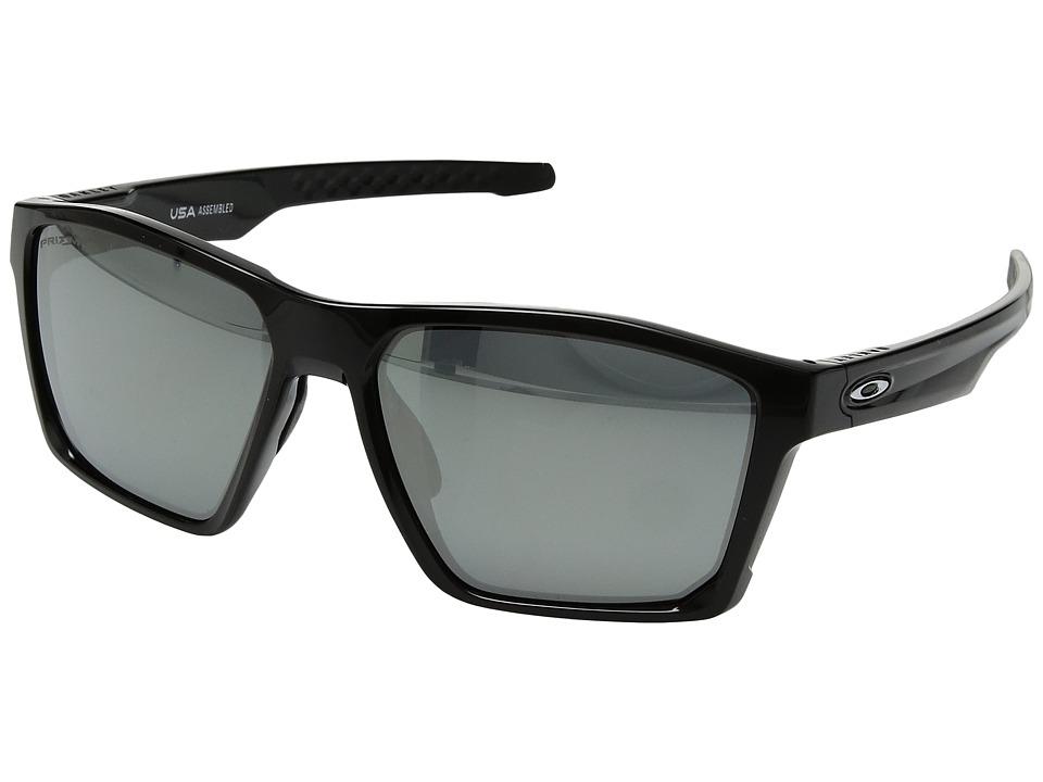 Oakley Targetline (Polished Black w/ Prizm Black Polarized) Athletic Performance Sport Sunglasses