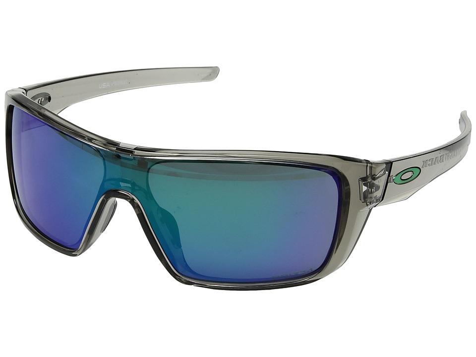 Oakley - Straightback (Grey Ink w/ Prizm Jade) Athletic Performance Sport Sunglasses