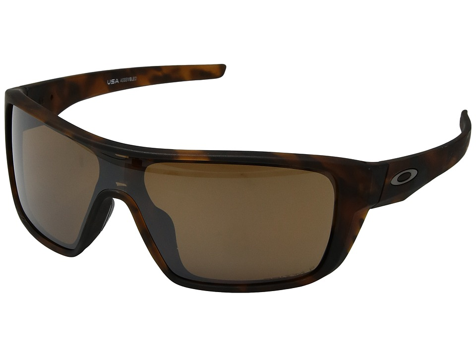 Oakley Straightback (Matte Brown Tortoise w/ Prizm Tungsten Polarized) Athletic Performance Sport Sunglasses