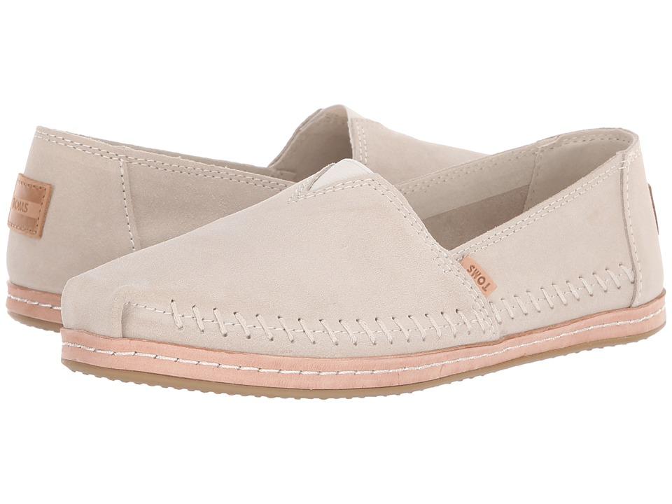 TOMS Alpargata (Birch Suede) Women's Shoes