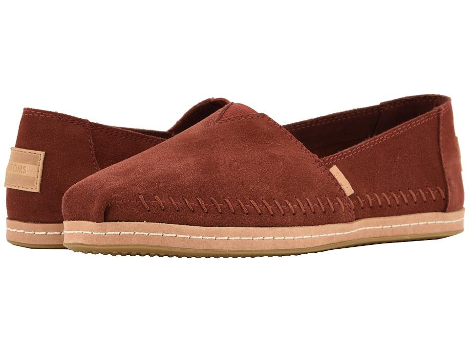 TOMS Alpargata (Muscat Suede) Women's Shoes