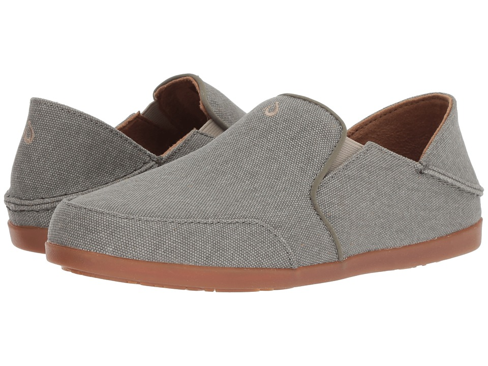 OluKai Waialua Canvas (Dusty Olive) Women's Shoes