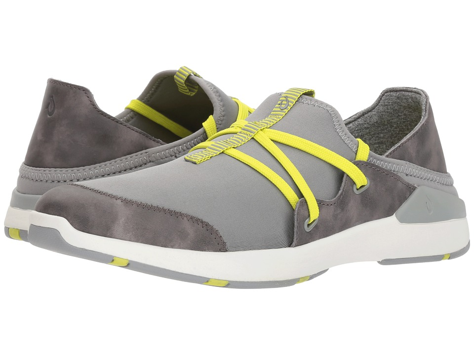 OluKai Miki Li (Pale Grey/Charcoal) Women's Shoes