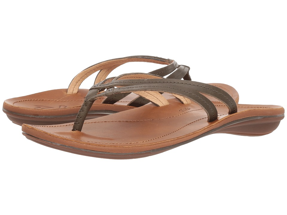 OluKai U'i (Dusty Olive/Sahara) Sandals