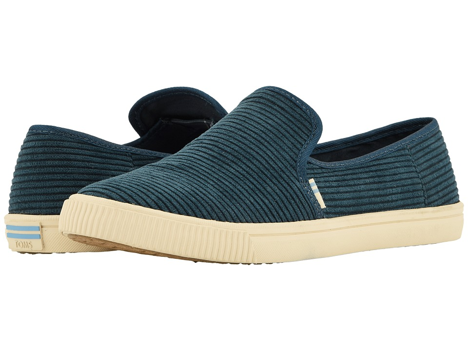TOMS Clemente (Atalantic Corduroy) Slip-On Shoes